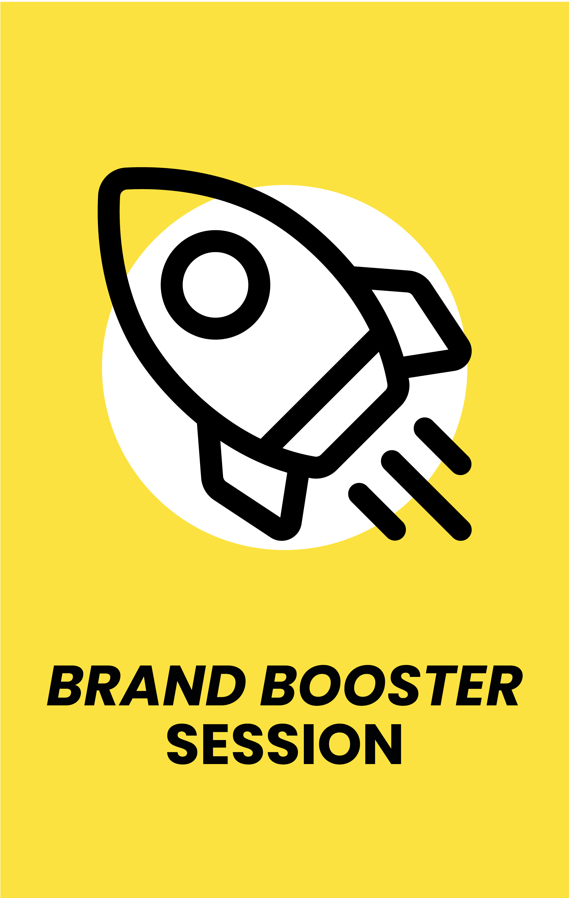 free brand booster session